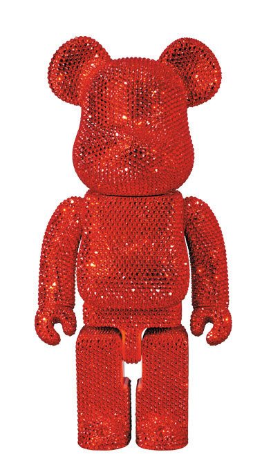 Bearbrick Crystal [Red] (400%)