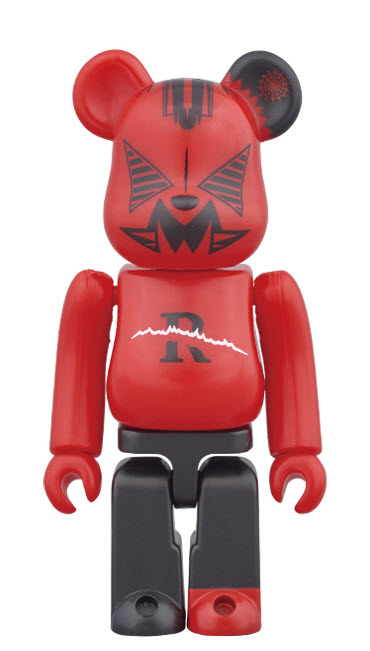 Bearbrick Red Spider (100%)