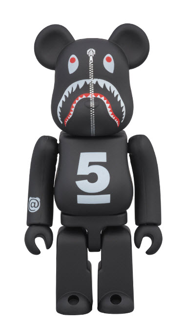 Bearbrick DSMG 5th x Bape Shark (100%)