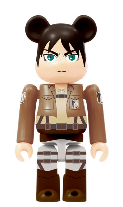 Bearbrick Attack on Titan [Eren Yeager] (100%)