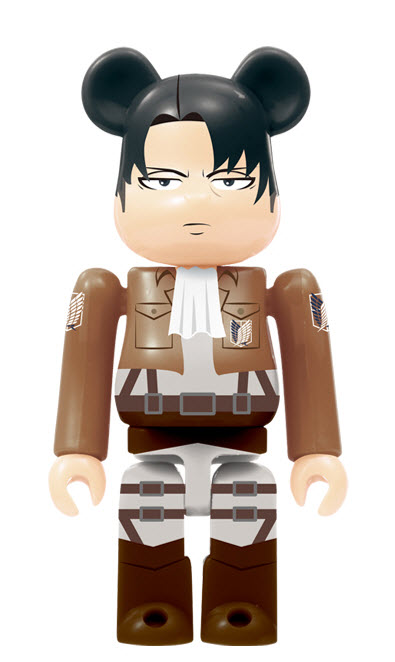 Bearbrick Attack on Titan [Levi Ackerman] (100%)