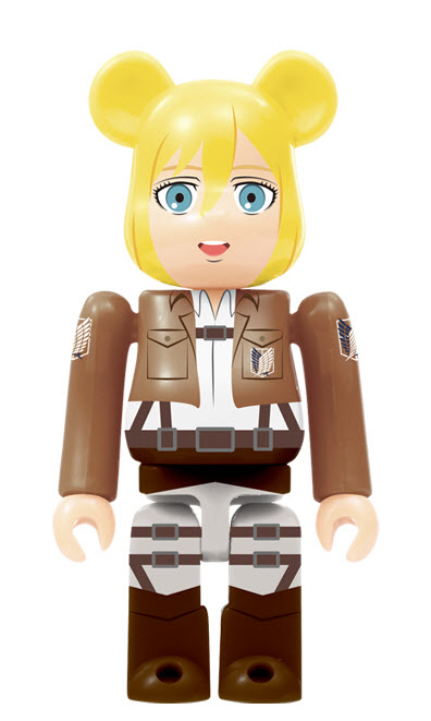 Bearbrick Attack on Titan [Armin Arlert] (100%)