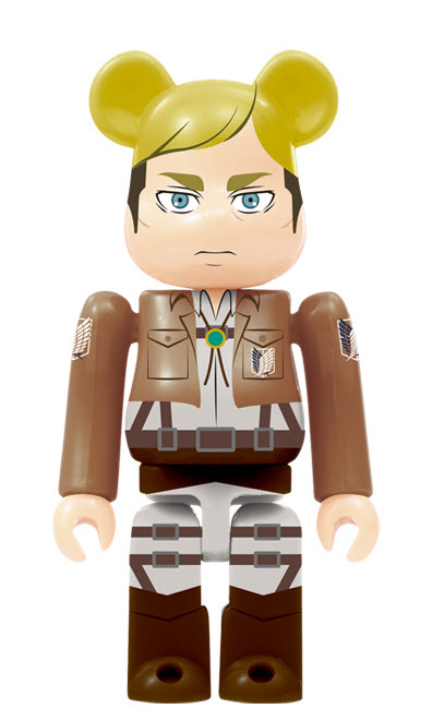 Bearbrick Attack on Titan [Erwin Smith] (100%)