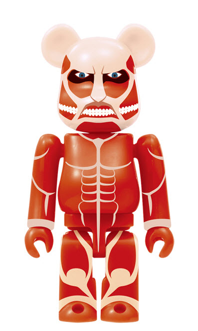 Bearbrick Attack on Titan [Colossal Titan] (100%)