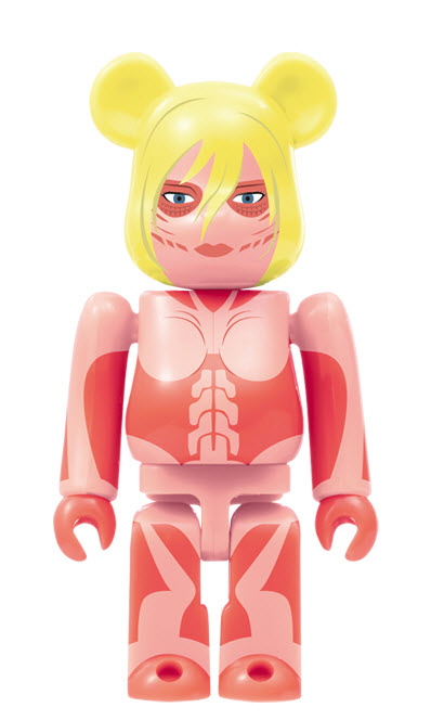 Bearbrick Attack on Titan [Female Titan] (100%)