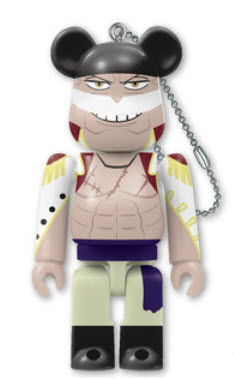 Bearbrick One Piece 20th Anniversary [Whitebeard] (100%)