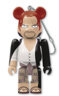 Bearbrick One Piece 20th Anniversary [Shanks] (100%)