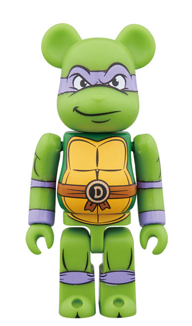 Bearbrick Donatello (100%)