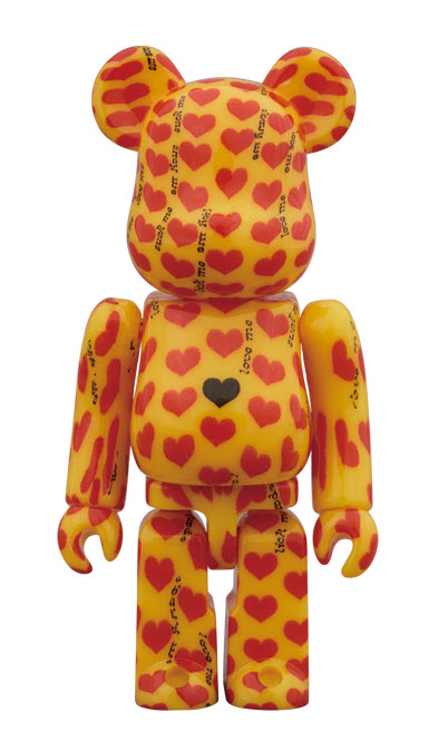Bearbrick Yellow Heart (100%)