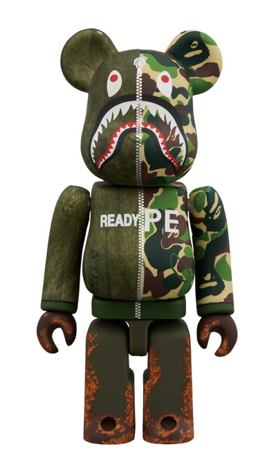 Bearbrick READYMADE x A Bathing Ape (100%)