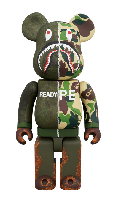 Bearbrick READYMADE x A Bathing Ape (400%)