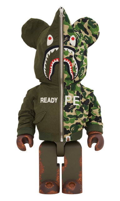 Bearbrick READYMADE x A Bathing Ape (1000%)