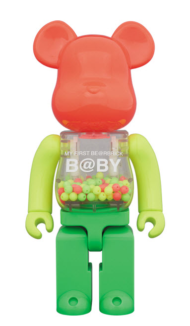 Bearbrick My First Be@rbrick B@by [Neon Ver.] (400%)