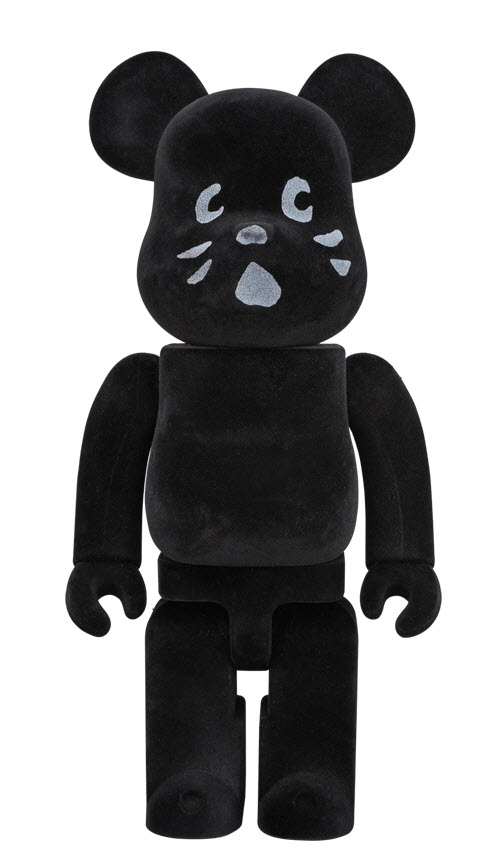 Bearbrick Nya [Flocked Ver.] (400%)