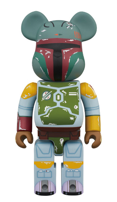 Bearbrick Boba Fett [First Appearance Ver.] (400%)