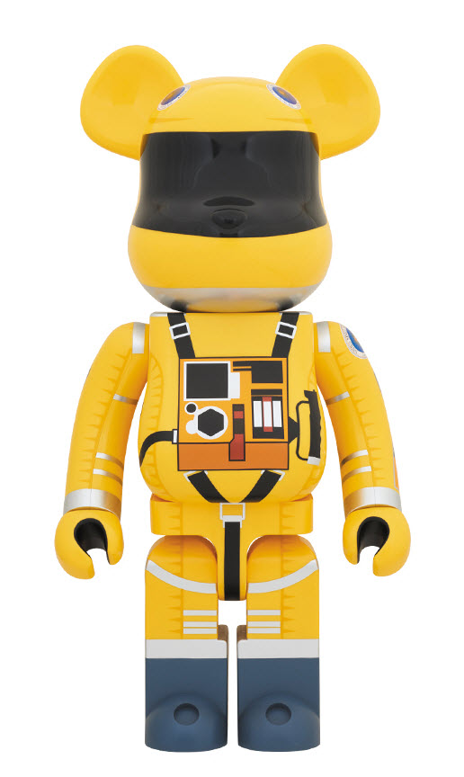 Bearbrick 2001: A Space Odyssey [Yellow Space Suit] (1000%)
