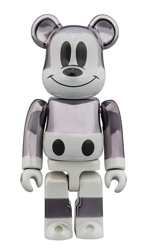 Bearbrick fragment design x Mickey Mouse [90th Anniversary] (100%)