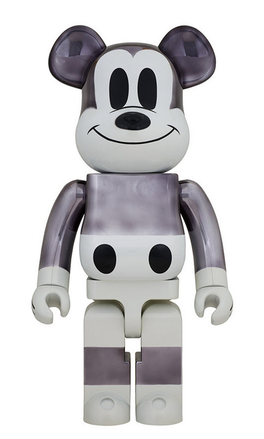 Bearbrick fragment design x Mickey Mouse [90th Anniversary] (1000%)