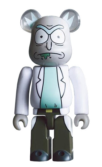 Bearbrick Rick and Morty [Rick] (100%)