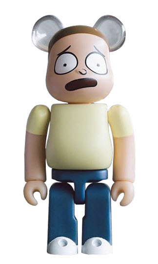 Bearbrick Rick and Morty [Morty] (100%)